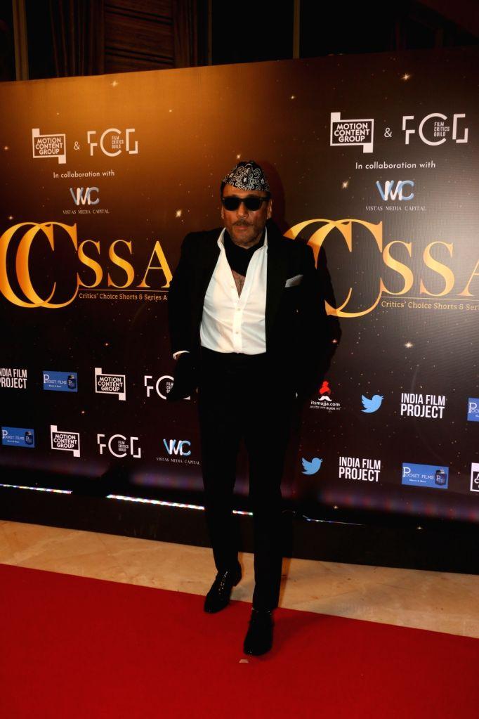 Actor Jackie Shroff at the red carpet of Critics' Choice Awards in Mumbai on Dec 11, 2019. - Jackie Shroff