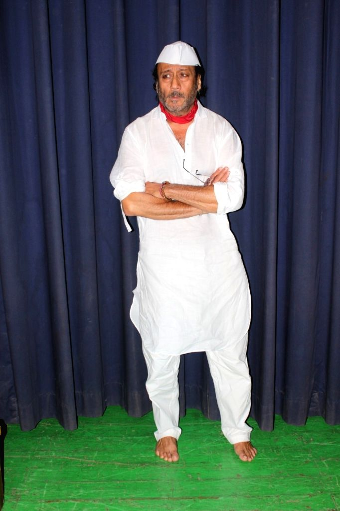 Actor Jackie Shroff during a programme in Mumbai on Aug 19, 2017. - Jackie Shroff