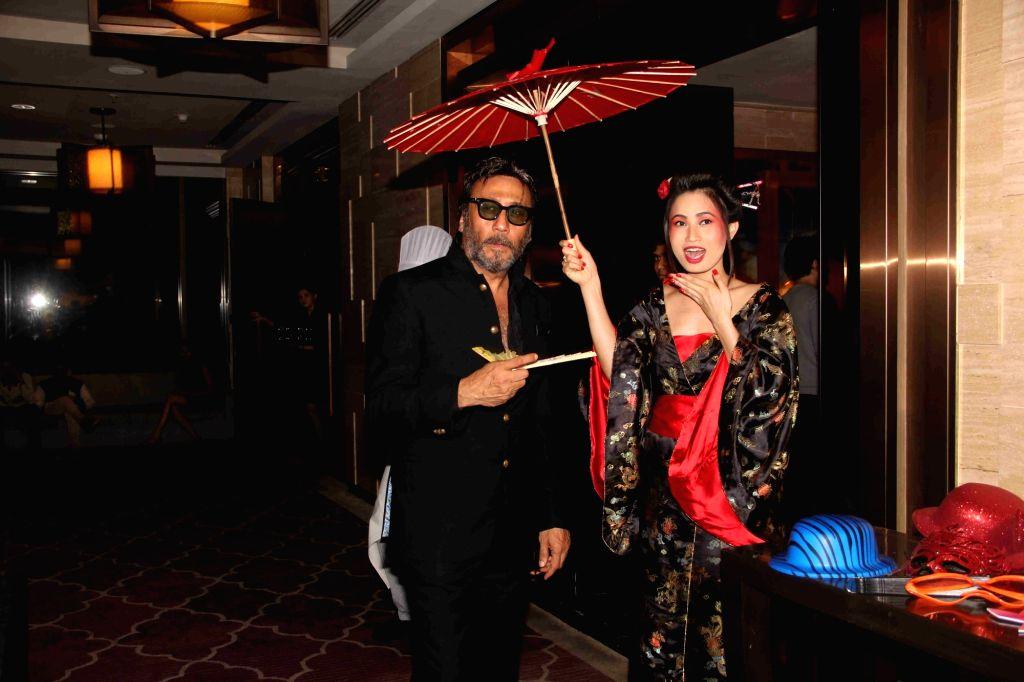 Actor Jackie Shroff during the Krishika Lull`s party, in Mumbai on July 2, 2016. - Jackie Shroff