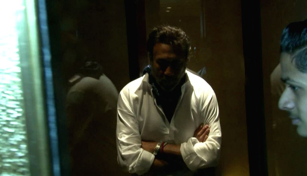 Actor Jackie Shroff spotted At Taj Lands End in Mumbai on April 27, 2017. - Jackie Shroff