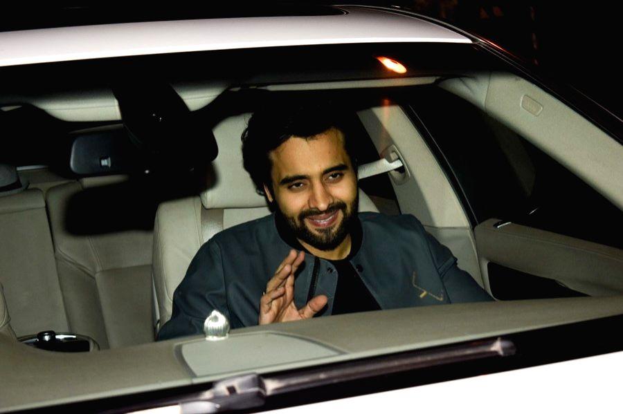 Actor Jackky Bhagnani at the filmmaker Karan Johar's valentine party in Mumbai on Feb 14, 2018. - Jackky Bhagnani