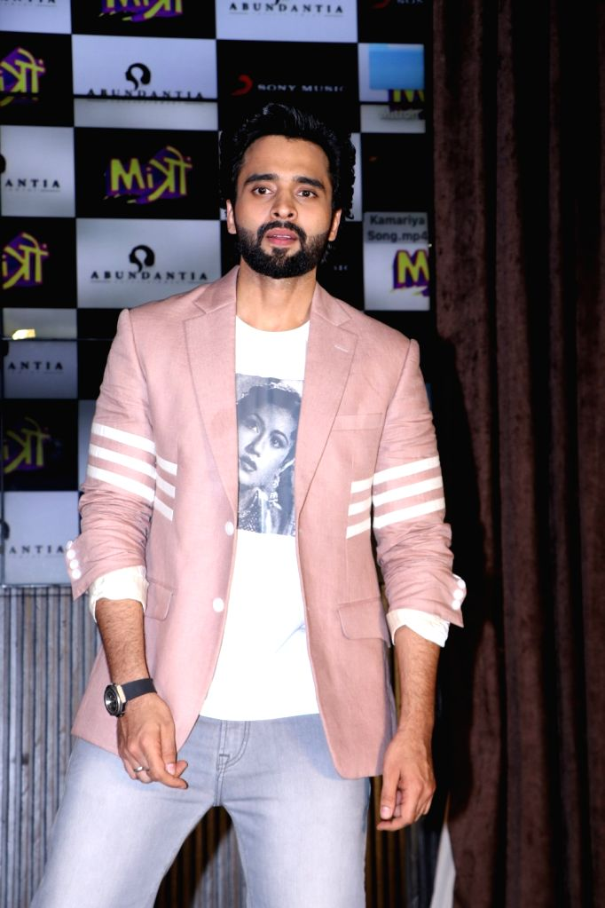 """Actor Jackky Bhagnani at the music concert of his upcoming film """"Mitron"""" in Mumbai on Aug 31, 2018. - Jackky Bhagnani"""
