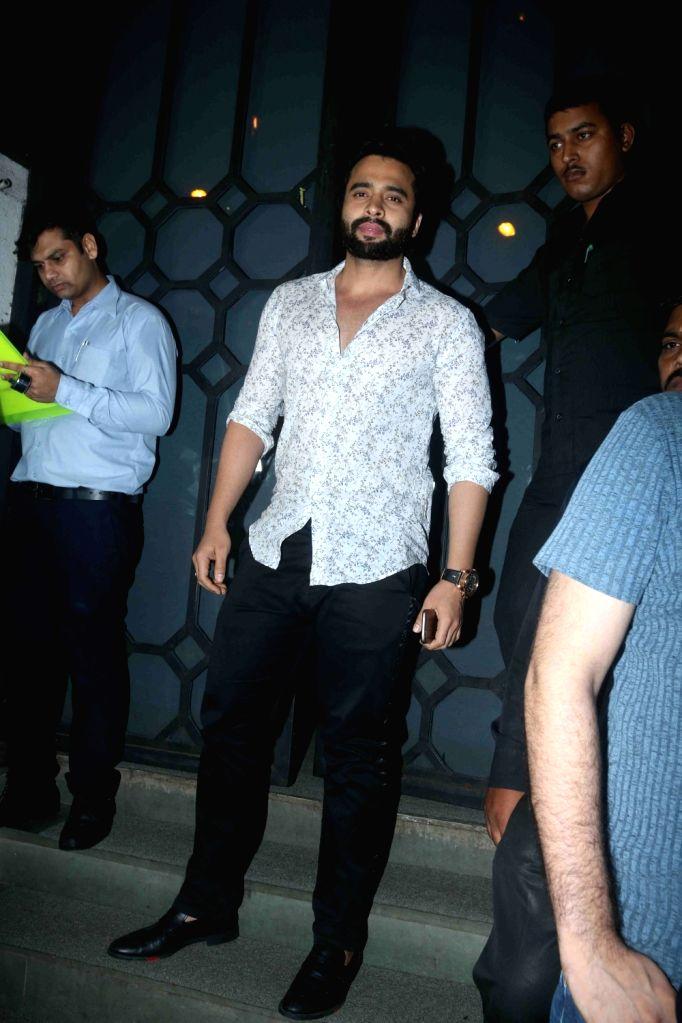 Actor Jackky Bhagnani during the birthday party of Rohini Iyer, MD, Raindrop Media in Mumbai on Aug 10, 2016. - Jackky Bhagnani