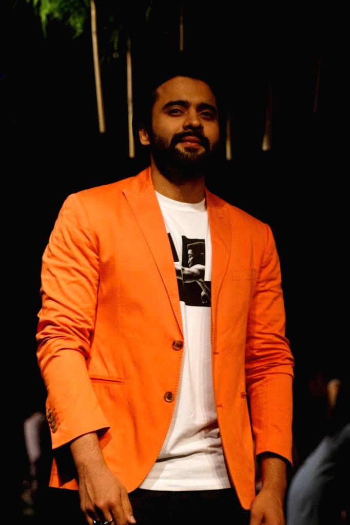 Actor Jackky Bhagnani during the Lakme Fashion Week Winter, in Mumbai on Aug 16, 2017. - Jackky Bhagnani