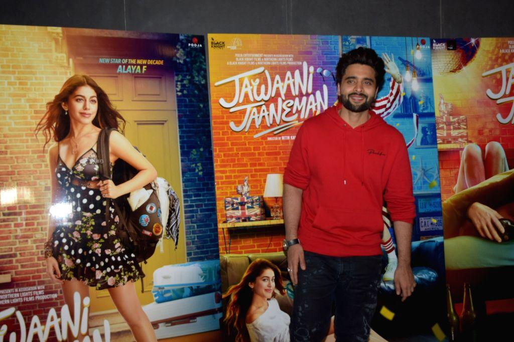 "Actor Jackky Bhagnani during the media interactions for his upcoming film ""Jawaani Jaaneman"" in Mumbai on Jan 9, 2020. - Jackky Bhagnani"