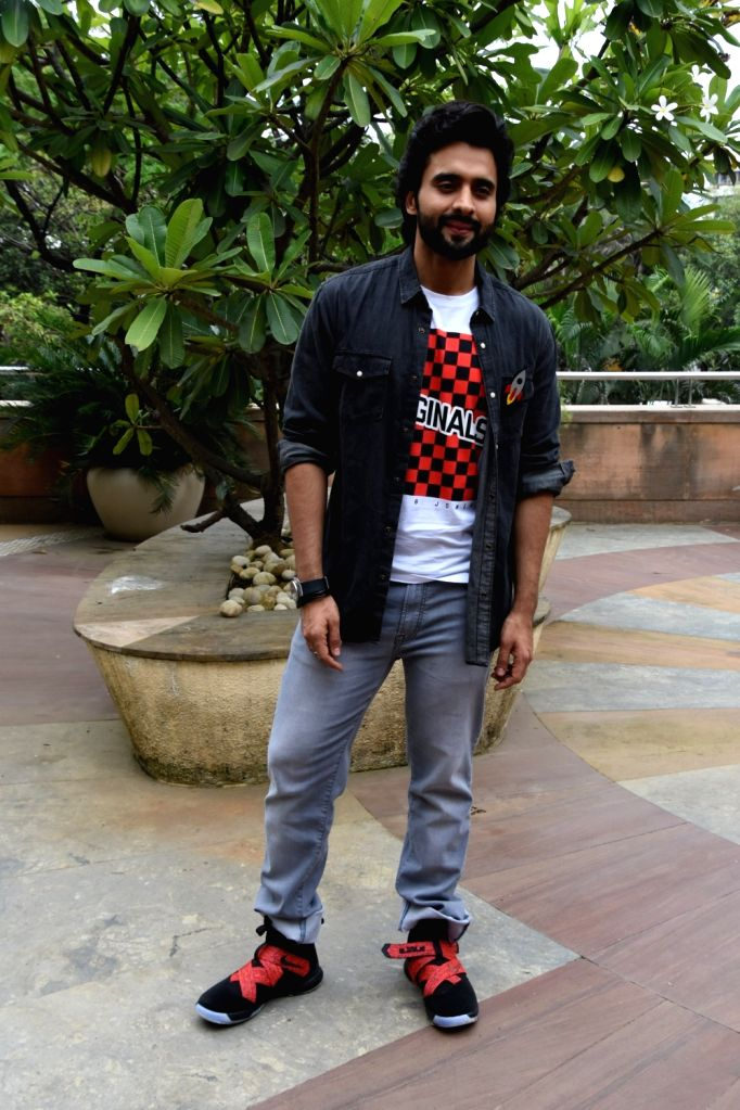 "Actor Jackky Bhagnani during the promotion of his upcoming film ""Mitron"" in Mumbai on Aug 27, 2018. - Jackky Bhagnani"