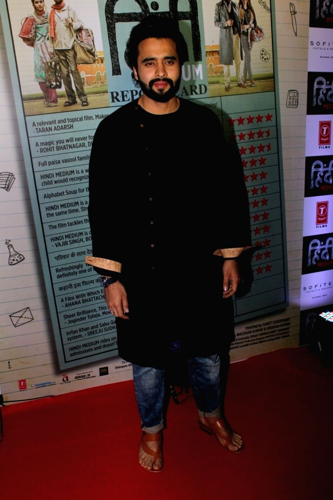 Actor Jackky Bhagnani during the success party of film Hindi Medium in Mumbai on May 27, 2017. - Jackky Bhagnani