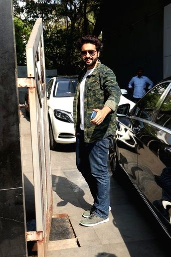 Actor Jackky Bhagnani seen at Juhu in Mumbai on March 16, 2020. - Jackky Bhagnani