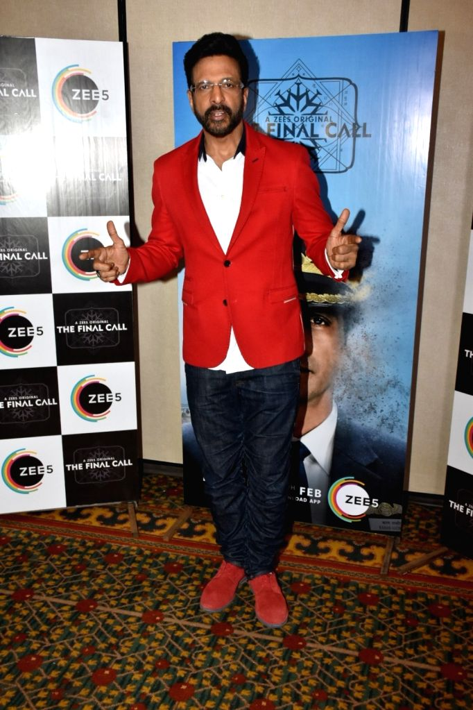 """Actor Javed Jaffrey at the promotion of his upcoming web series """"The Final Call"""" in Mumbai, on Feb 18, 2019. - Javed Jaffrey"""