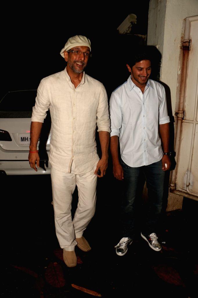 "Actor Javed Jaffrey during the screening of film ""Solo"" in Mumbai on Oct 10, 2017. - Javed Jaffrey"