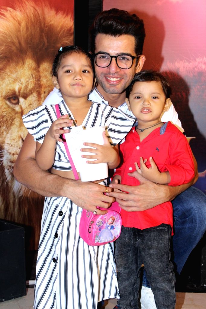 "Actor Jay Bhanushali at the special screening of upcoming animated film ""The Lion King"" in Mumbai, on July 16, 2019. - Jay Bhanushali"