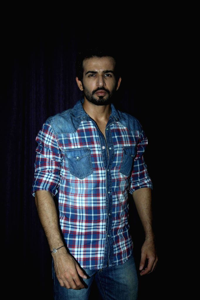 Actor Jay Bhanushali during the promotion of film Ek Paheli Leela in Mumbai on March 30, 2015. - Jay Bhanushali