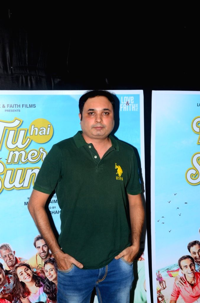 "Actor Jay Upadhyay during the promotions of his upcoming film ""Tu Hai Mera Sunday"" in Mumbai on Sept 17, 2017. - Jay Upadhyay"
