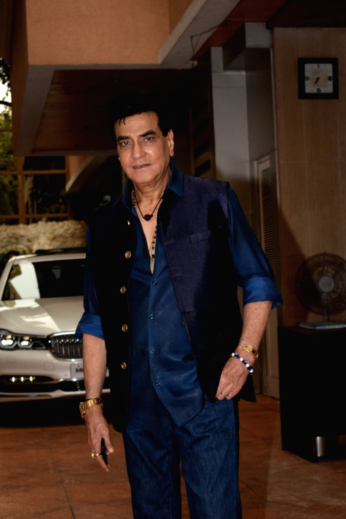 Actor Jeetendra celebrates his grandson Laksshya birthday party in Mumbai on June 1, 2018. - Jeetendra