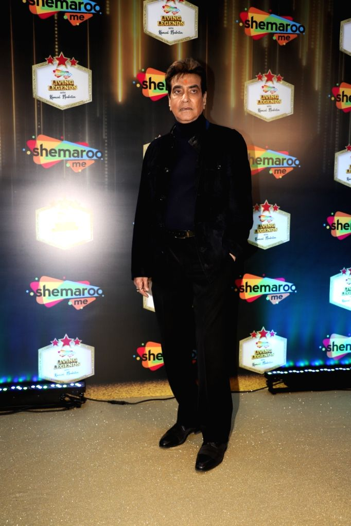 "Actor Jeetendra during a programme where ShemarooMe announced the launch of its chat show ""Komal Nahta....Aur Ek Kahani"" to revisit the Golden era and celebrate the magic of Hindi ... - Jeetendra"