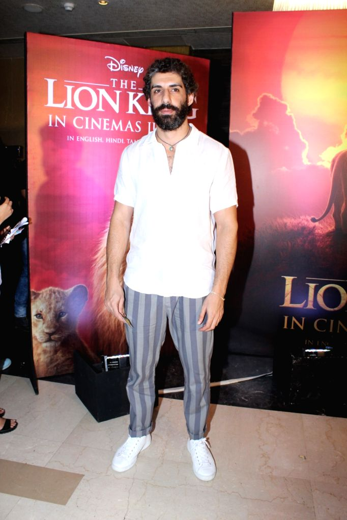 "Actor Jim Sarbh at the special screening of upcoming animated film ""The Lion King"" in Mumbai, on July 16, 2019. - Jim Sarbh"