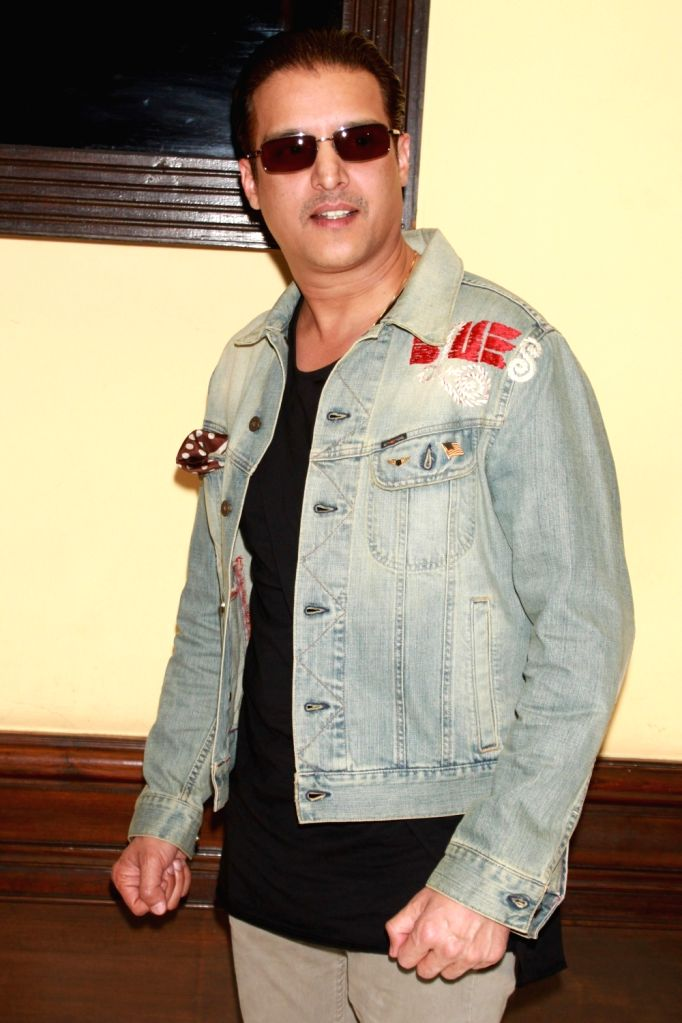 """Actor Jimmy Shergill during a press conference to promote their upcoming Punjabi film """"Vaisakhi List"""" in New Delhi on April 16, 2016. - Jimmy Shergill"""
