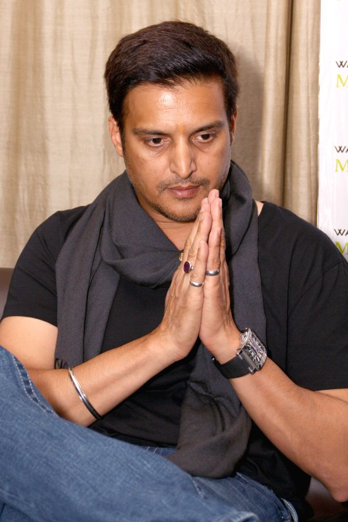 Actor Jimmy Shergill during the press meet of the his film ``Aa Gaye Munde UK De`` in Noida on August 2, 2014. - Jimmy Shergill