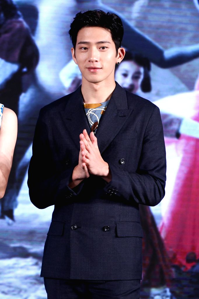 "Actor Jing Boran attends the press conference for the premiere of his new movie ""Monster Hunt"" in Beijing, capital of China, July 5, 2015. The movie will ... - Jing Boran"