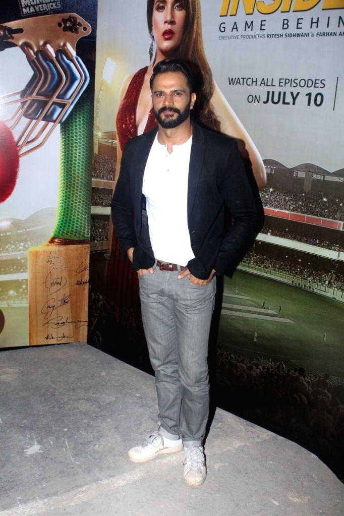 "Actor Jitin Gulati during promotion of television series ""Inside Edge"" in Mumbai on July 4, 2017. - Jitin Gulati"
