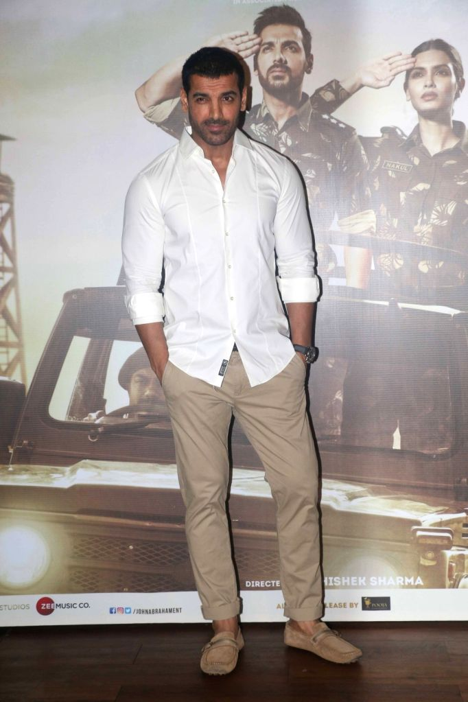 "Actor John Abraham at the success party of his film ""Parmanu: The Story of Pokhran"" in Mumbai on June 12, 2018. - John Abraham"