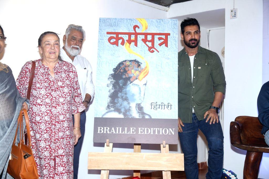 Actor John Abraham during a programme in Mumbai, on Jan 4, 2020. - John Abraham