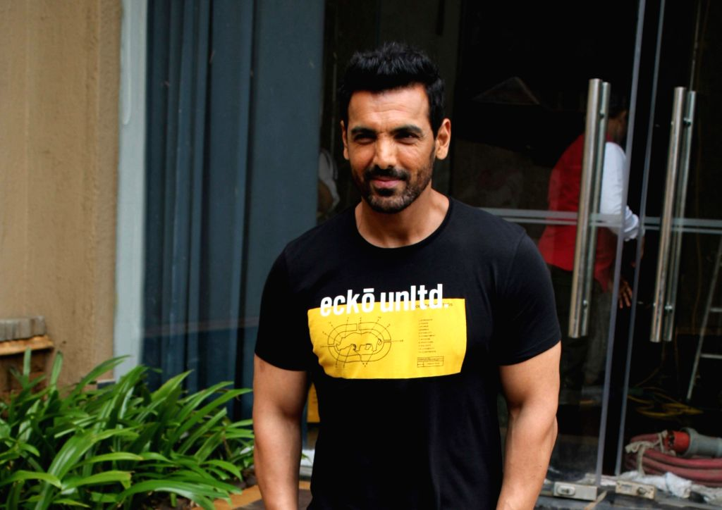 Actor John Abraham. (Photo: IANS) - John Abraham