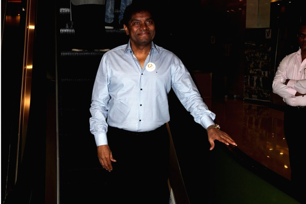 Actor Johny Lever at the inauguration of ActFest, which is organised by Cine and TV Artistes' Association (Cintaa) and 48 Hour Film Project, in Mumbai on Feb 15, 2019. - Johny Lever