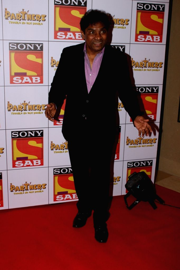 """Actor Johny Lever at the red carpet of new television show """"Partners"""" in Mumbai on Nov 28, 2017. - Johny Lever"""