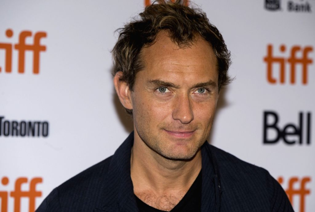 Actor Jude Law. (File Photo: Xinhua/Zou Zheng/IANS) - Jude Law