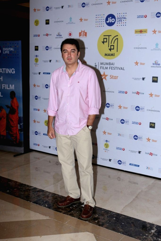 Actor Jugal Hansraj arrives to attend in conversation with publisher and editor Arpita Das at the Jio MAMI 18th Mumbai Film Festival, in Mumbai, on Oct 26, 2016. - Jugal Hansraj