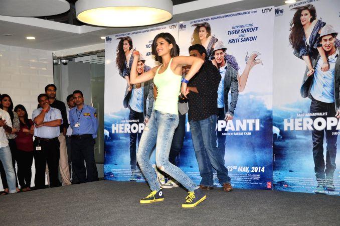 Actor Juhi Chawla during the premiere of Marathi film Dusari Goshta in Mumbai, on April 30, 2014. - Juhi Chawla