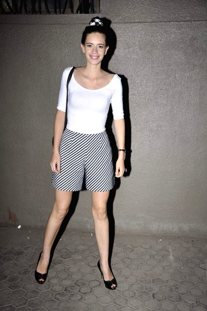 Actor Kalki Koechlin during the launch of music Director Mikey Mccleary`s new album `Classic Bollywood with a Twist` at Blue Frog in Mumbai, on May 14, 2014. - Kalki Koechlin