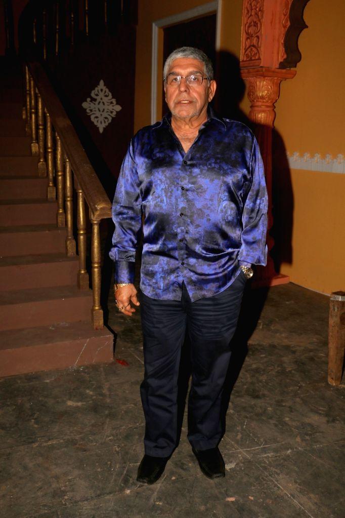 "Actor Kamal Mehrotra during the on location shoot of film ""Dhappa"", in Mumbai on July 3, 2017. - Kamal Mehrotra"