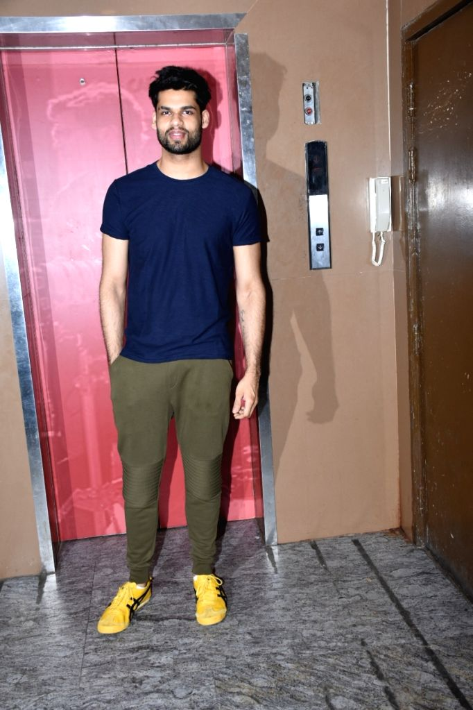 Actor Karan Kapadia seen at Bandra, in Mumbai, on June 2, 2019. - Karan Kapadia