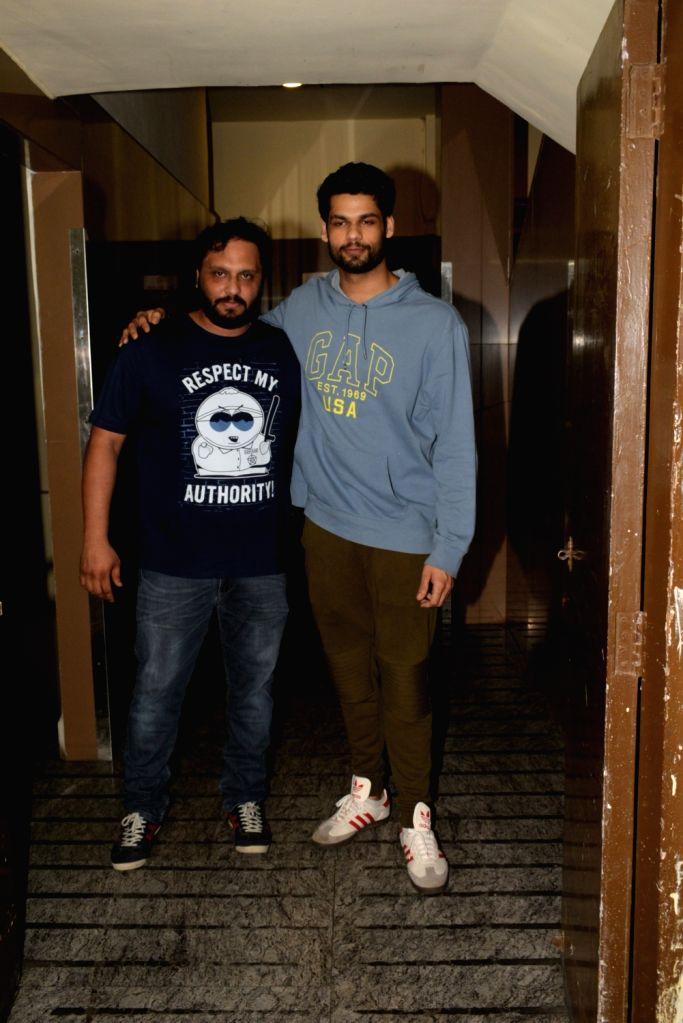 Actor Karan Kapadia seen in Mumbai's Juhu, on April 10, 2019. - Karan Kapadia