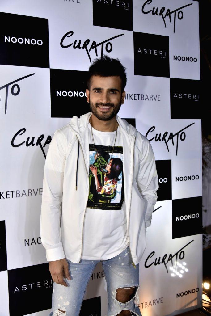 Actor Karan Tacker at a clothing store during a programme in Mumbai on Feb 13, 2019. - Karan Tacker