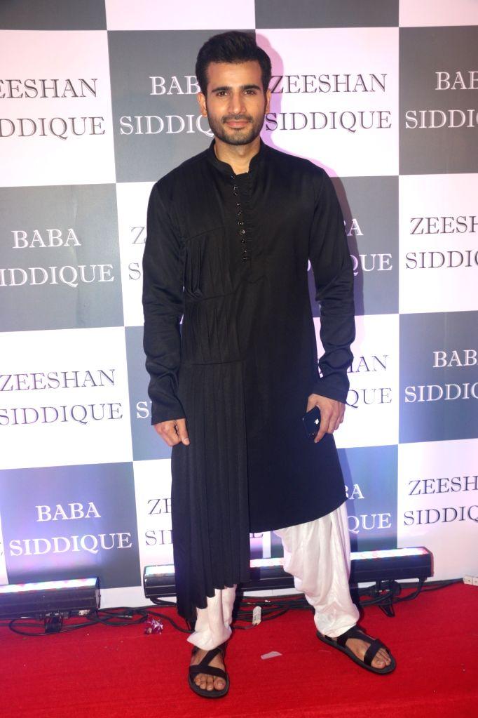 Actor Karan Tacker at Congress leader Baba Siddique's Iftar party in Mumbai, on June 2, 2019. - Karan Tacker