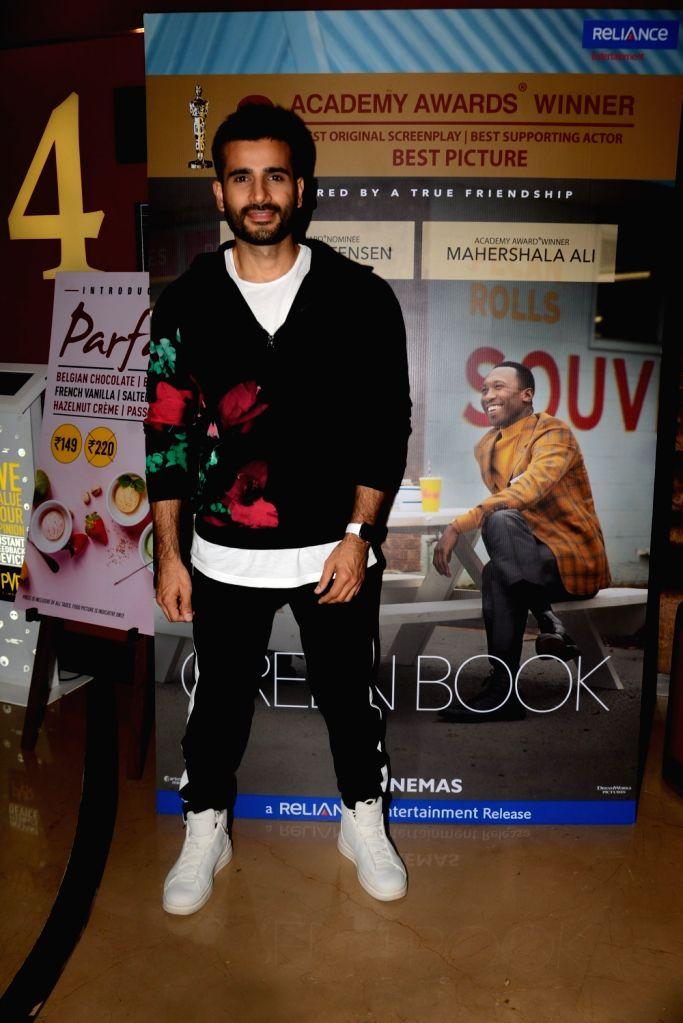"Actor Karan Tacker at the screening of an Oscar winning film ""Green Book"" in Mumbai, on  March 2, 2019. - Karan Tacker"