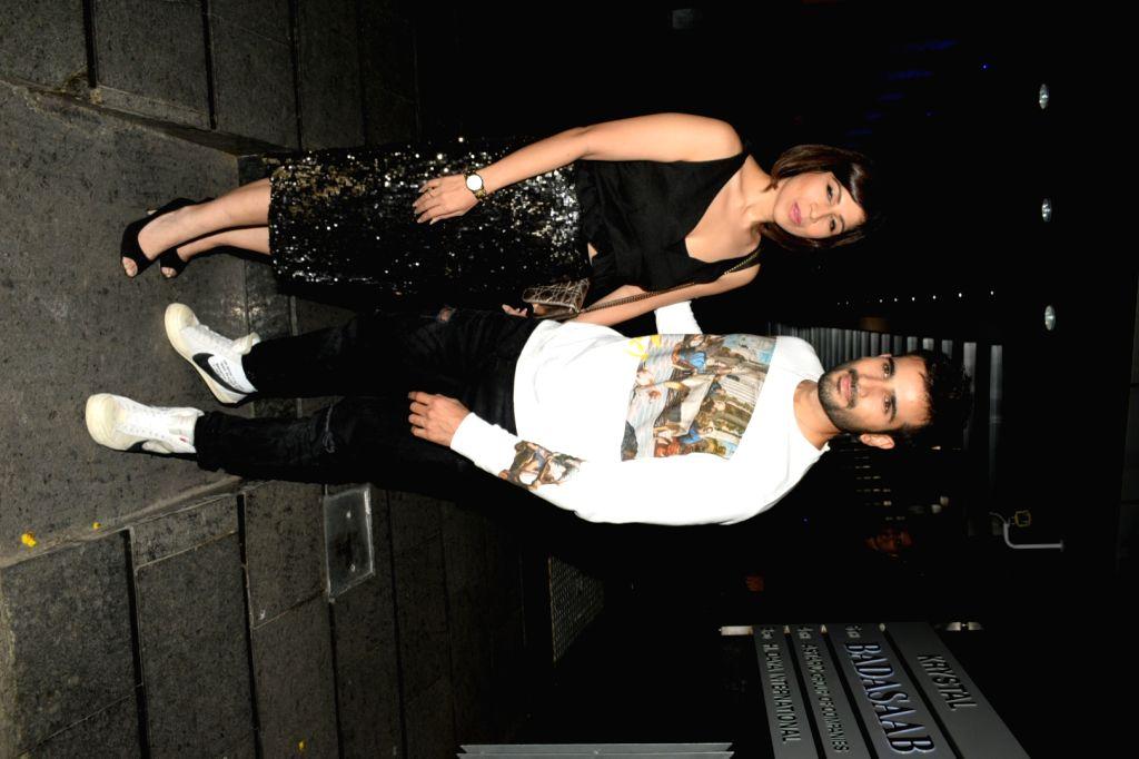 Actor Karan Tacker during his birthday celebrations at a restaurant in Mumbai's Bandra on May 10, 2019. - Karan Tacker