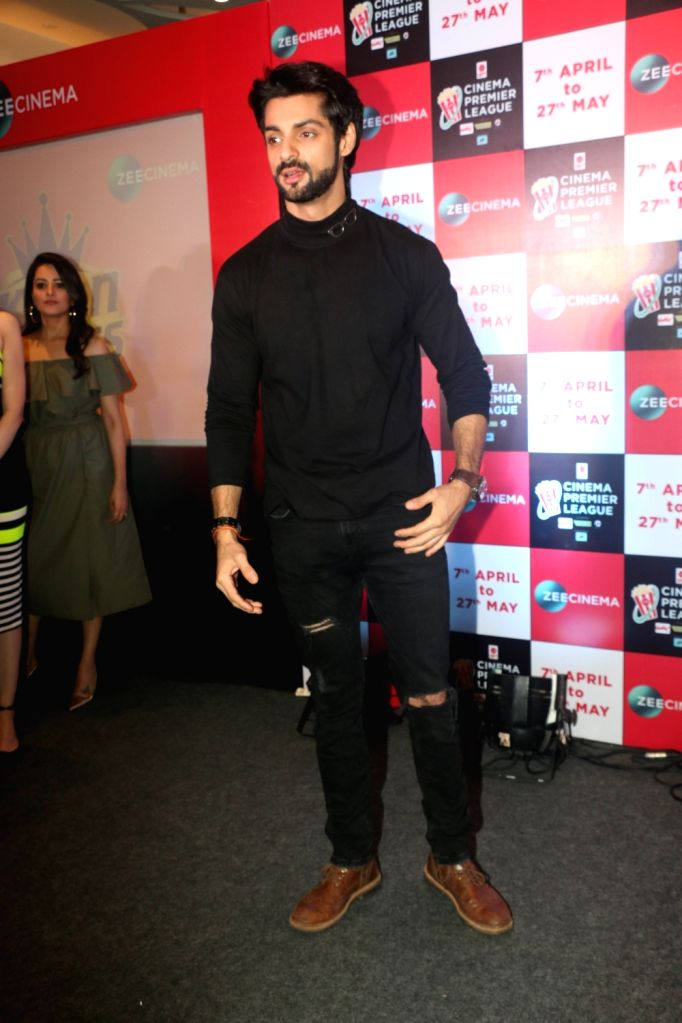 Actor Karan Wahi at the launch of Zee Cinema Premier League in Mumbai on April 5, 2018. - Karan Wahi