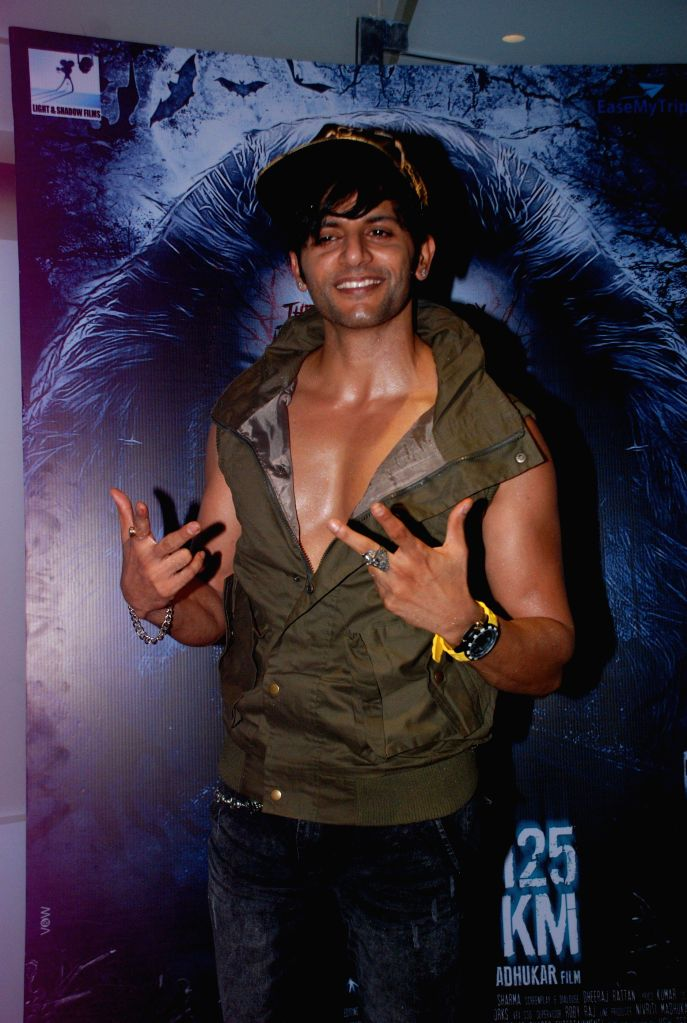 Actor Karanvir Bohra during the music launch and first look trailer of horror film Mumbai 125 KM, in Mumbai, on Aug. 21, 2014. - Karanvir Bohra