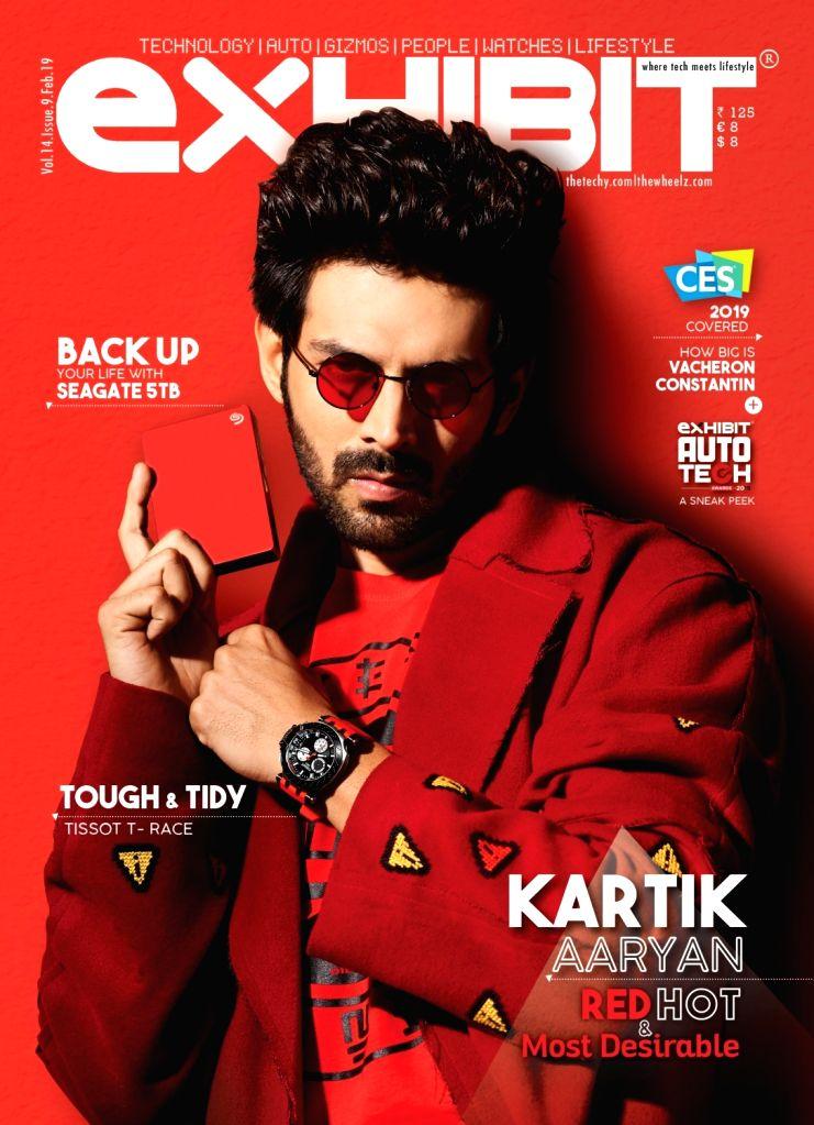 Actor Kartik Aaryan. - Kartik Aaryan
