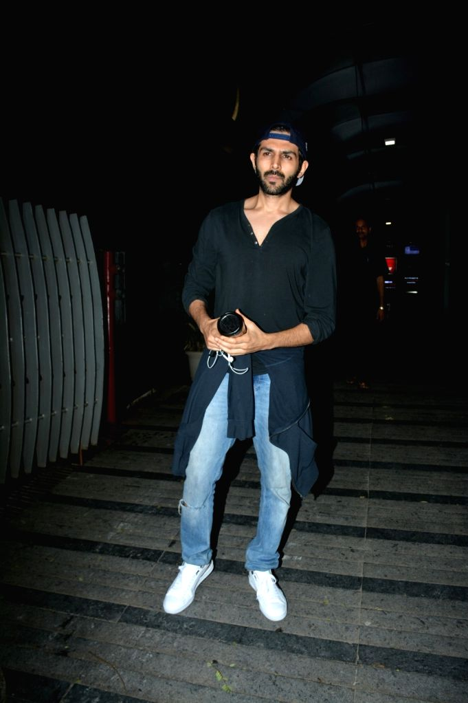 Actor Kartik Aaryan seen at Mumbai's Bandra on July 11, 2018. - Kartik Aaryan