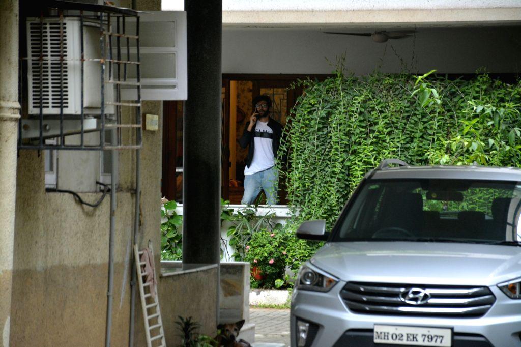 Actor Kartik Aaryan seen at Mumbai's Bandra on July 23, 2018. - Kartik Aaryan