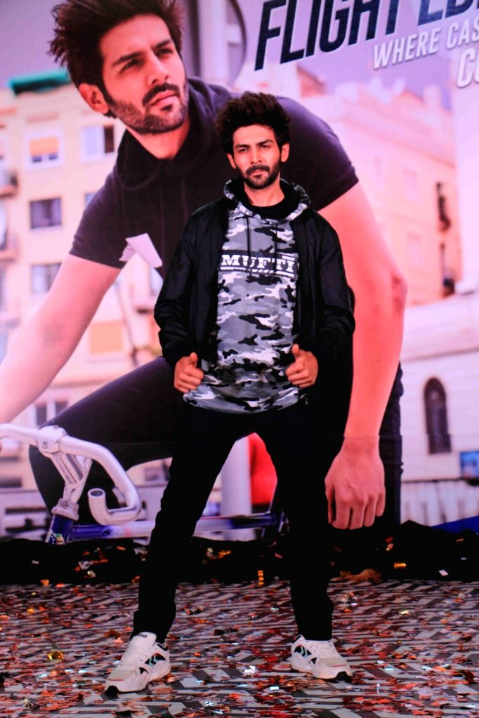 Actor Kartik Aryan at the launch of latest collection of a clothing brand in Mumbai on May 31, 2019. - Kartik Aryan