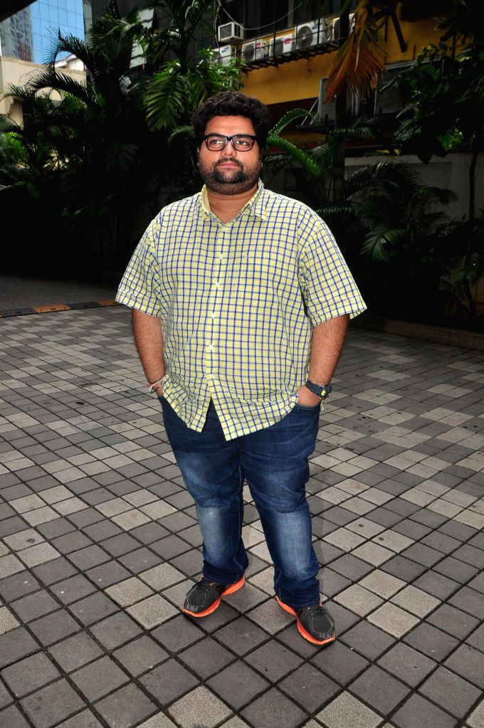 Actor Kavin Dave during the music launch of film 3AM, in Mumbai, on Sept 9, 2014. - Kavin Dave
