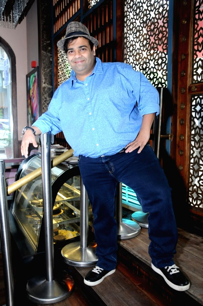 "Actor Kiku Sharda during the promotions of his upcoming film ""2016 The End"" in New Delhi on Sept 17, 2017. - Kiku Sharda"