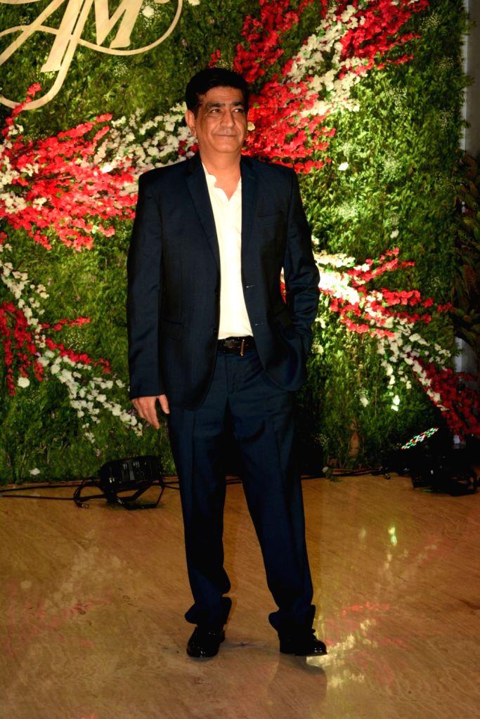 Actor Kirshan Kumar at the wedding reception of producer Jayantilal Gada's son Aksshay Gada in Mumbai, on March 31, 2019. - Kirshan Kumar
