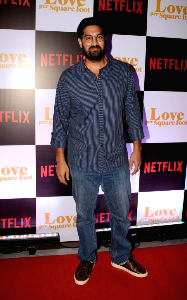 "Actor Kunaal Roy Kapur at the screening of film ""Love Per Square Foot"" in Mumbai on Feb 11, 2018. - Kunaal Roy Kapur"